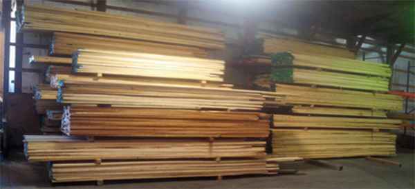 Stock Lumber at Pekin Hardwood