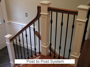 Post To Post Stairway System ...